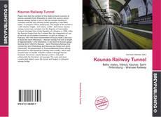 Copertina di Kaunas Railway Tunnel