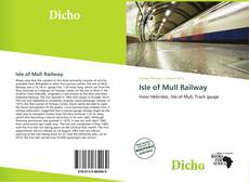 Bookcover of Isle of Mull Railway