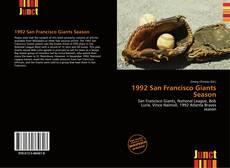 Bookcover of 1992 San Francisco Giants Season