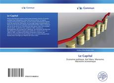 Bookcover of Le Capital