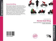 Honda Gold Wing的封面