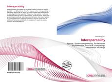 Bookcover of Interoperability