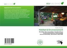 Обложка Habitat & Environnement