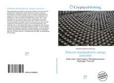 Johnson thermoelectric energy converter kitap kapağı