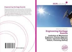 Capa do livro de Engineering Heritage Awards