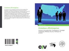 Bookcover of Création d'Entreprise
