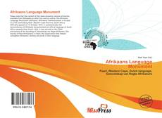 Bookcover of Afrikaans Language Monument
