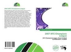 Bookcover of 2007 AFC Champions League