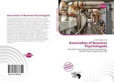 Bookcover of Association of Business Psychologists