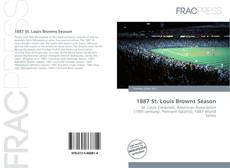 Buchcover von 1887 St. Louis Browns Season