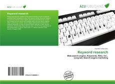 Capa do livro de Keyword research