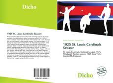 Copertina di 1925 St. Louis Cardinals Season