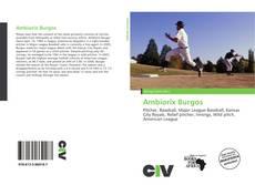 Portada del libro de Ambiorix Burgos