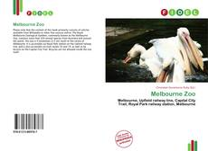 Bookcover of Melbourne Zoo