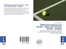 Bookcover of 2009 Internationaux du Doubs – Open de Franche-Comté – Singles