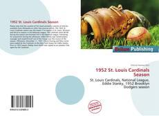 Copertina di 1952 St. Louis Cardinals Season
