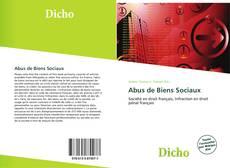 Capa do livro de Abus de Biens Sociaux