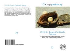 Buchcover von 1953 St. Louis Cardinals Season