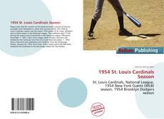 Buchcover von 1954 St. Louis Cardinals Season