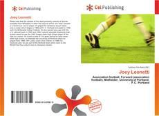 Joey Leonetti kitap kapağı