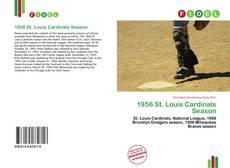 Capa do livro de 1956 St. Louis Cardinals Season