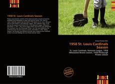Capa do livro de 1958 St. Louis Cardinals Season