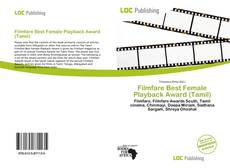 Borítókép a  Filmfare Best Female Playback Award (Tamil) - hoz