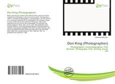 Обложка Don King (Photographer)