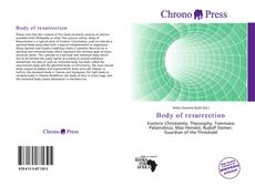 Bookcover of Body of resurrection