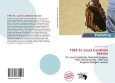 Couverture de 1963 St. Louis Cardinals Season