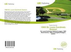 Buchcover von 1965 St. Louis Cardinals Season