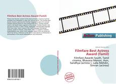Bookcover of Filmfare Best Actress Award (Tamil)