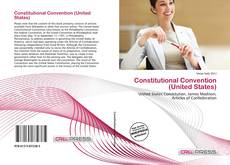 Bookcover of Constitutional Convention (United States)