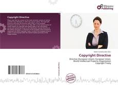 Bookcover of Copyright Directive