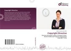 Copertina di Copyright Directive