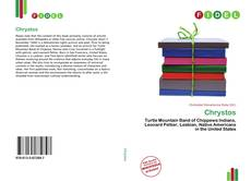 Bookcover of Chrystos