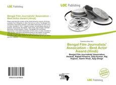 Couverture de Bengal Film Journalists' Association – Best Actor Award (Hindi)