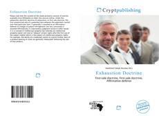 Couverture de Exhaustion Doctrine