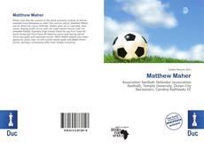 Buchcover von Matthew Maher