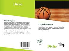 Bookcover of Klay Thompson