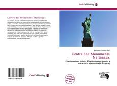 Couverture de Centre des Monuments Nationaux