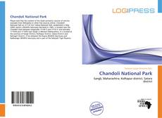 Buchcover von Chandoli National Park