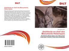Couverture de Architecte en chef des Monuments Historiques