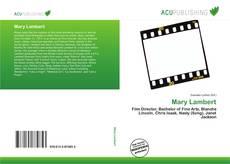 Bookcover of Mary Lambert