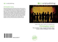 Bookcover of Christopher Leone