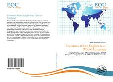Bookcover of Countries Where English is an Official Language
