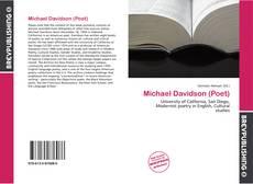 Обложка Michael Davidson (Poet)