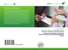 Bookcover of Brian Howe (Politician)