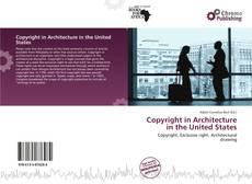 Buchcover von Copyright in Architecture in the United States