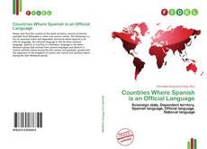 Capa do livro de Countries Where Spanish is an Official Language